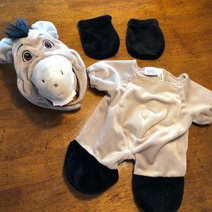 Build a Bear Shrek Donkey Costume